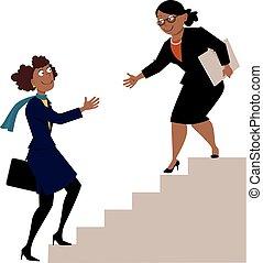 programme, femmes, mentorship