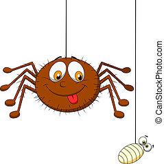 proie, araignés