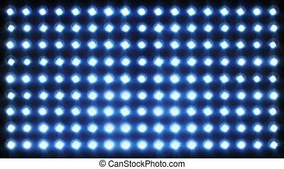 projecteurs, clignotant