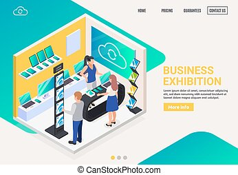 promotion, business, exposition, stand