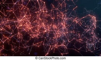 propagation, réseau, activité