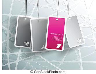 propre, card., pourpre, texte, pendre, quatre, endroit, boîte, chaque, vous, ton, cartes.