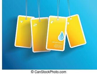 propre, card., texte, pendre, eau, jaune, quatre, endroit, boîte, chaque, vous, ton, cartes.