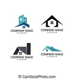 propriété, logo, gabarit