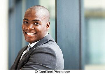 propriétaire, américain africain, business
