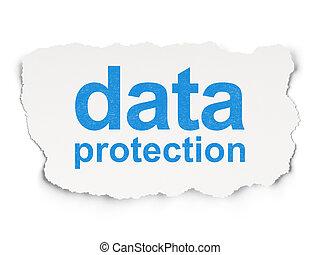 protection, papier, sécurité, fond, données, concept: