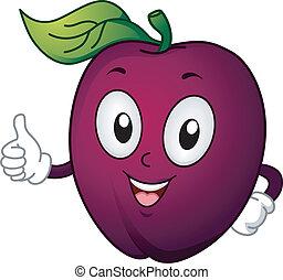 prune, mascotte