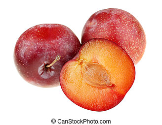 prune, rouges