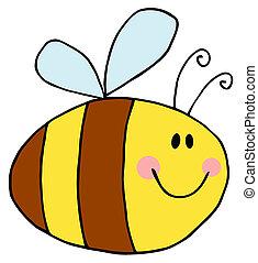 pudgy, abeille
