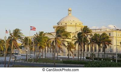 puerto, juan, rico, bâtiment capitole, san