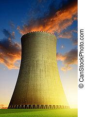 puissance, usine nucléaire