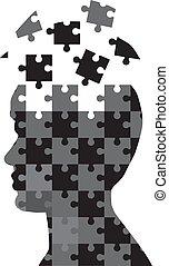 puzzle, homme