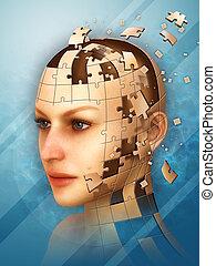 puzzle, identité