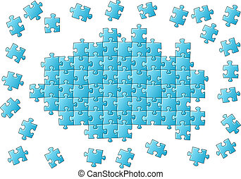 puzzle, inachevé