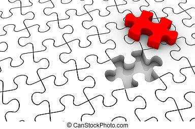 puzzle, puzzle, dernier morceau