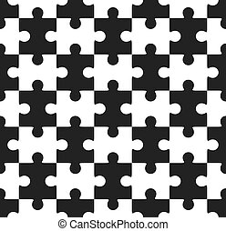 puzzle, puzzle, seamless