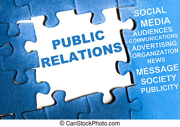 puzzle, relations publiques