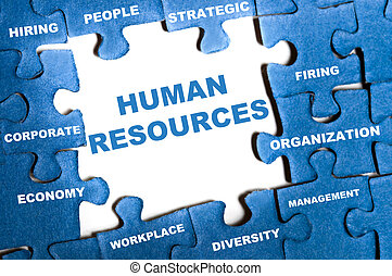 puzzle, ressources humaines