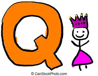 q, lettre
