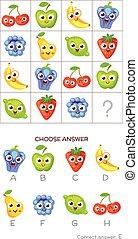 q.i., réponse, test., correct, choisir