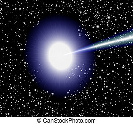 quasar, vecteur