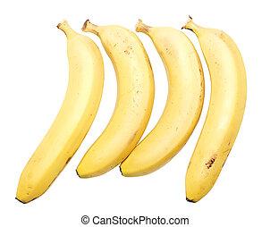 quatre, bananes
