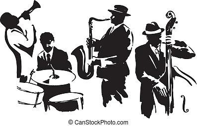 quatuor, jazz