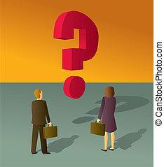 question, business