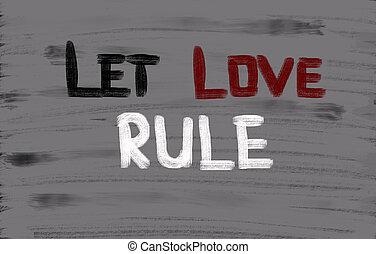 règles, concept