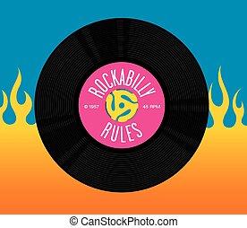 règles, enregistrement, conception, rockabilly