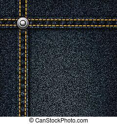 réaliste, jean, arrière-plan., vecteur
