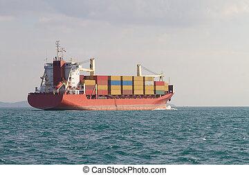 récipient bateau