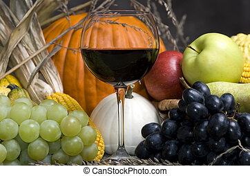 récolte, vin