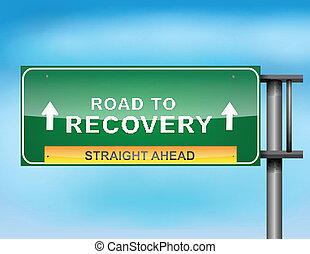 """"""", récupération, """"road, signe, texte, autoroute"""