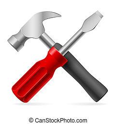 réparation, outils