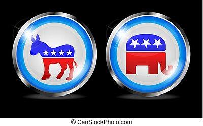 républicain, démocratique