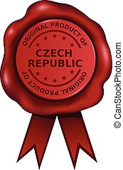 république, produit, tchèque
