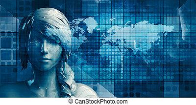 réseau, données