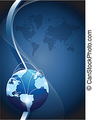 réseau global, communication