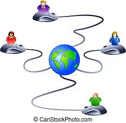 réseau, internet