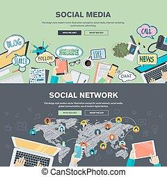 réseau, média, social