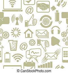 réseau, modèle, social