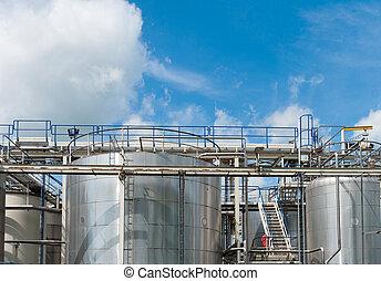 réservoirs chimiques