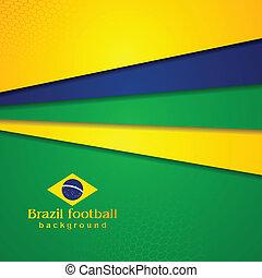 résumé, couleurs, fond, brésilien