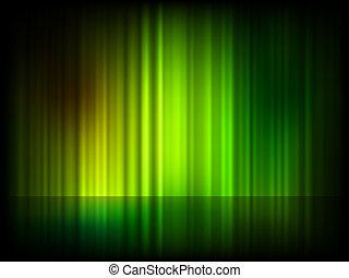 résumé, eps, arrière-plan., vert, 8, brillant