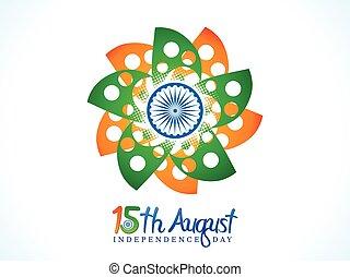 résumé, fleur, jour, indépendance