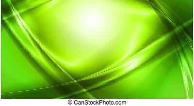 résumé, fond, vert