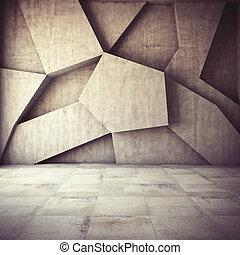 résumé, géométrique, fond