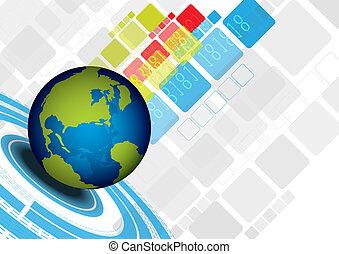 résumé, global, conception