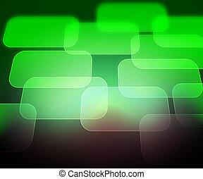 résumé, informatique, arrière-plan vert